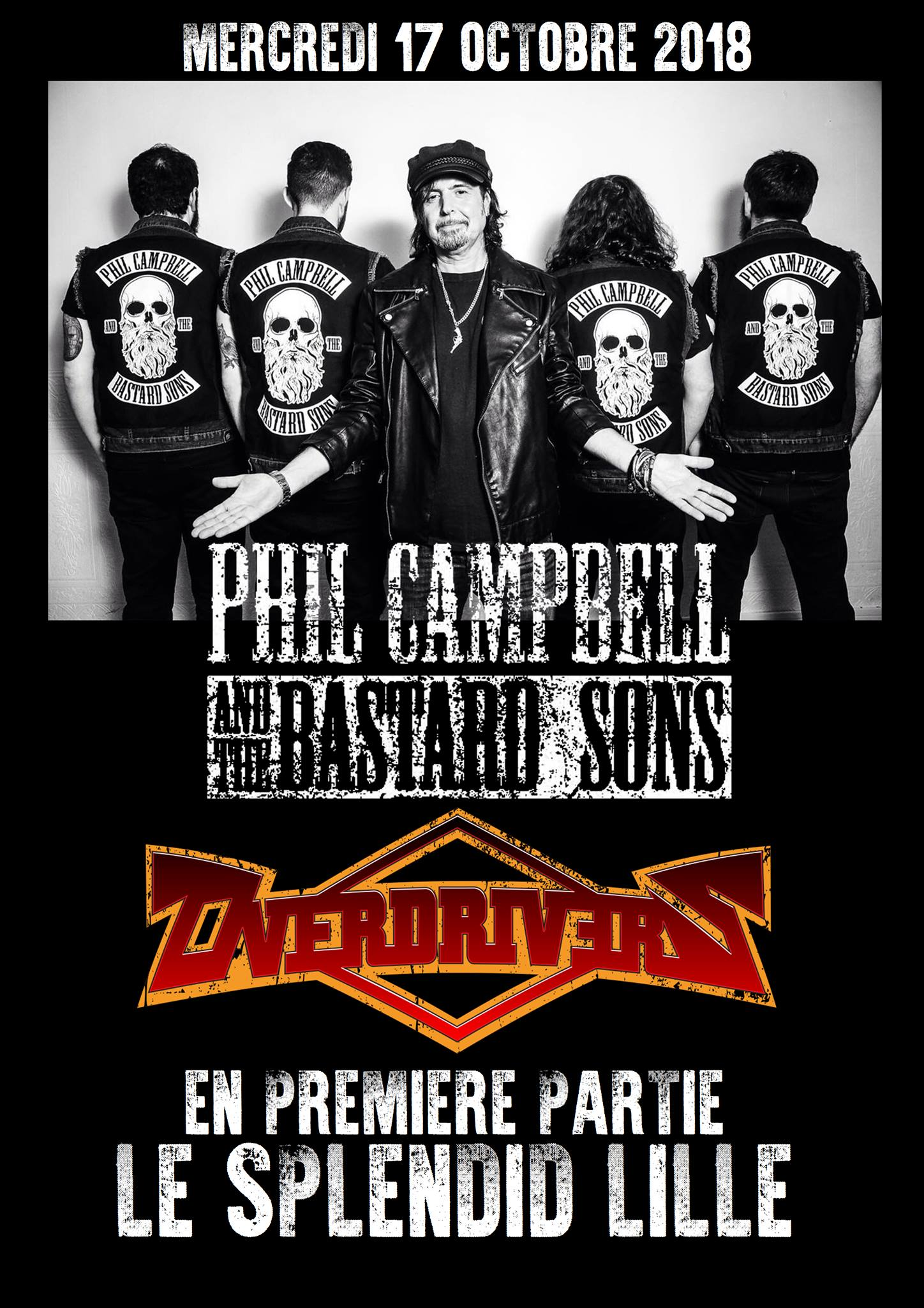 Phil Campbell And The Bastards Sons @ Lille