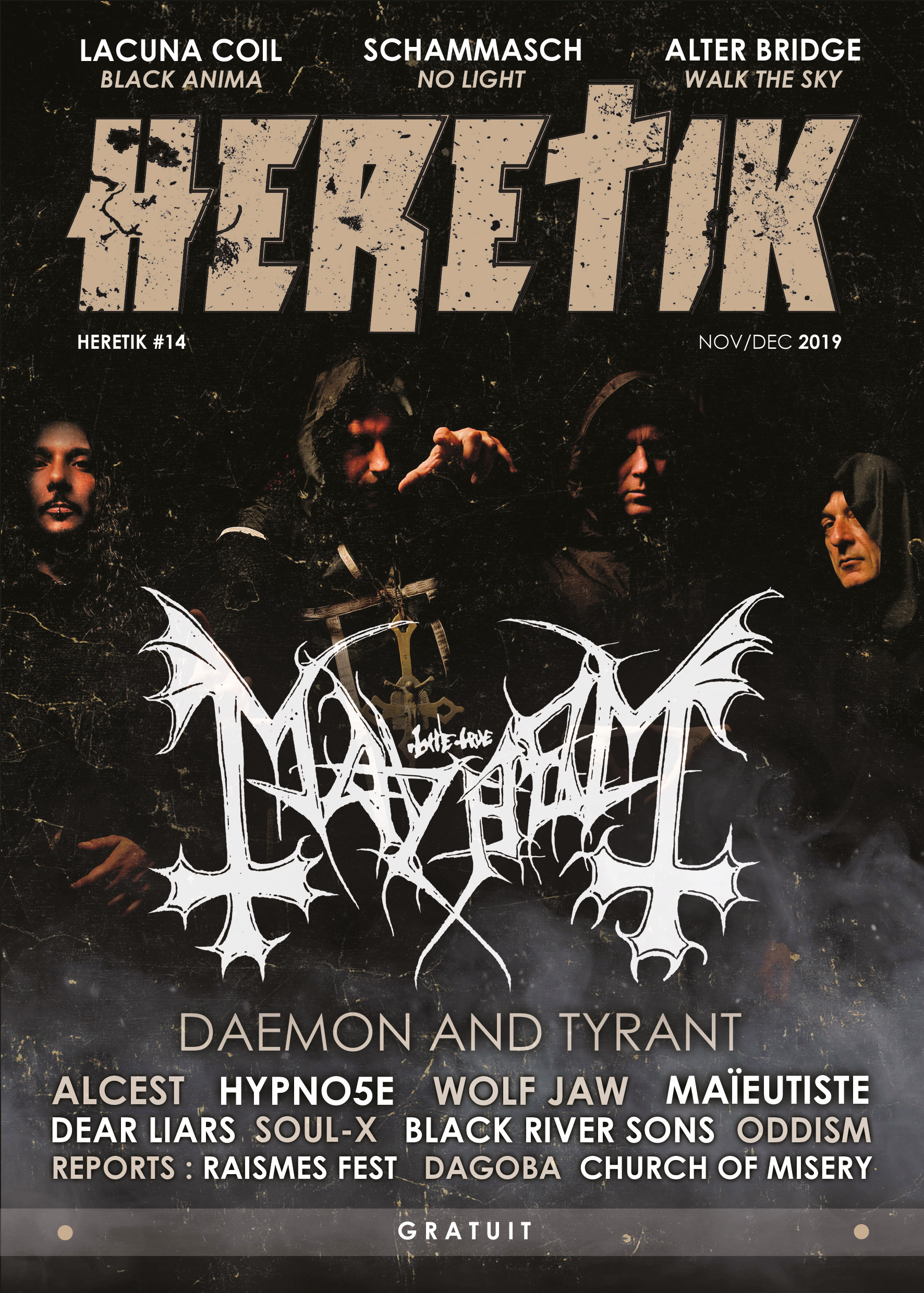 HERETIK - Metal Magazine & webzine