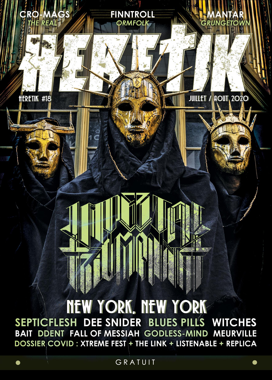HERETIK - Metal Magazine & webzine